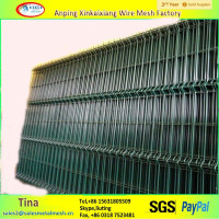100*150mm wire mesh fence , hot dipped galvanzied iron fence panels wholesale
