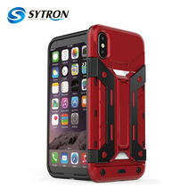 Hot Sales CE Approved With Card Holder 3 In 1 Frosted Shock Proof Case For Iphone x,3 In 1 Kickstand Case For Iphone x