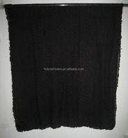 Lady Fashion Cashmere Scarf with four fringes