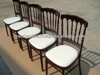 Wedding Chair Napoleon chair with Cushion