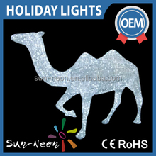 3d Ramadan Camel Motif Holiday Decoration Led Light Motif