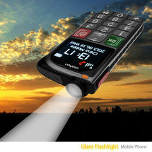 top level flashlight senior citizen mobile phone with signal sos light and emergency call function cell phone
