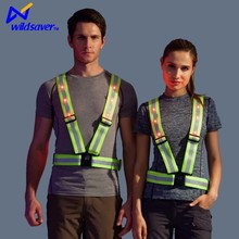 High Visibility reflective retractable lineman safety belt