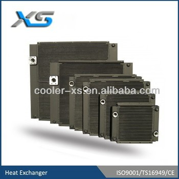 aluminum compressor oil cooler for Inger Sollrand
