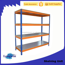 Heavy Duty Metal rivert Rack Garage Home Storage Shelving