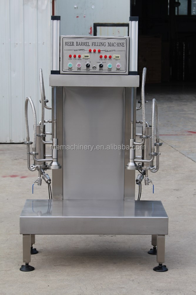 double heads keg filler/washer for micro brewery