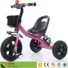 China factory push along baby trike toddlers bikes with parent handles