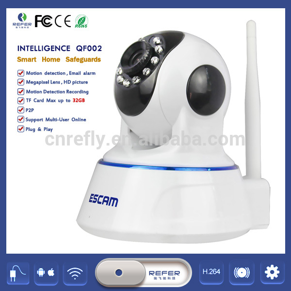 2015 High Quality Enster Analogue Cctv Camera QF002 ESCAM Cctv Manufacturer