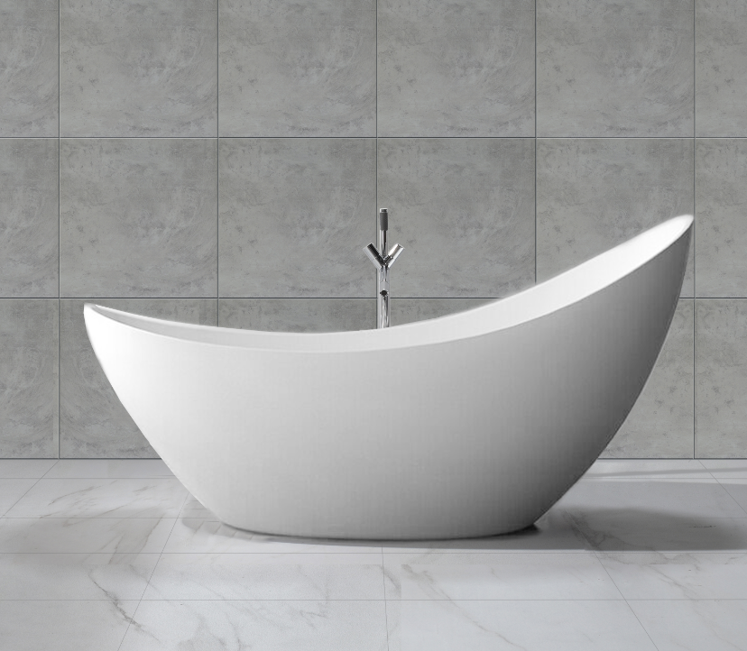 acrylic free standing shower bath tub with four legs buy