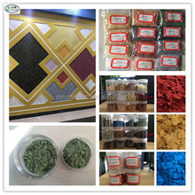 Durable epoxy seal decorative coloured flakes rock chips for liquid 3d floors & epoxy liquid granite