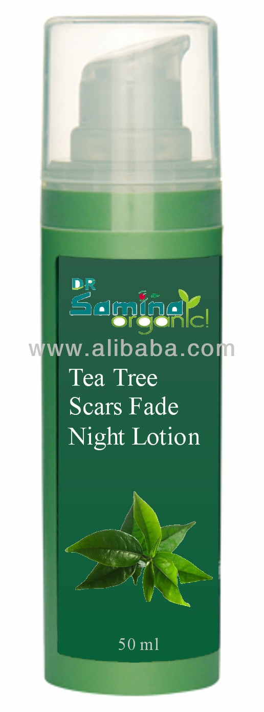 TEA TREE SCARS FADE NIGHT LOTION