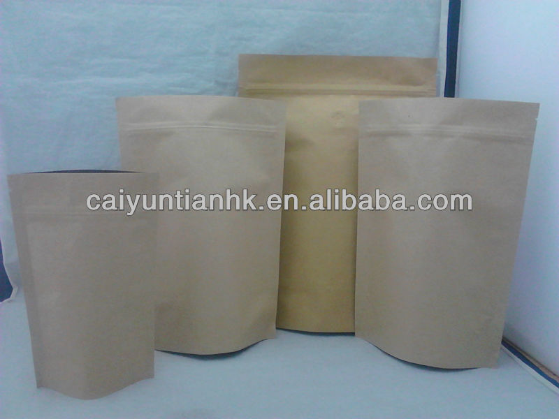 Hot Sale sack kraft paper for cement bags/Doypack Kraft Paper Bag