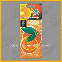 QC Department Provide OEM pineapple car air fresheners