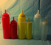 Top quality plastic sauce squeeze bottle