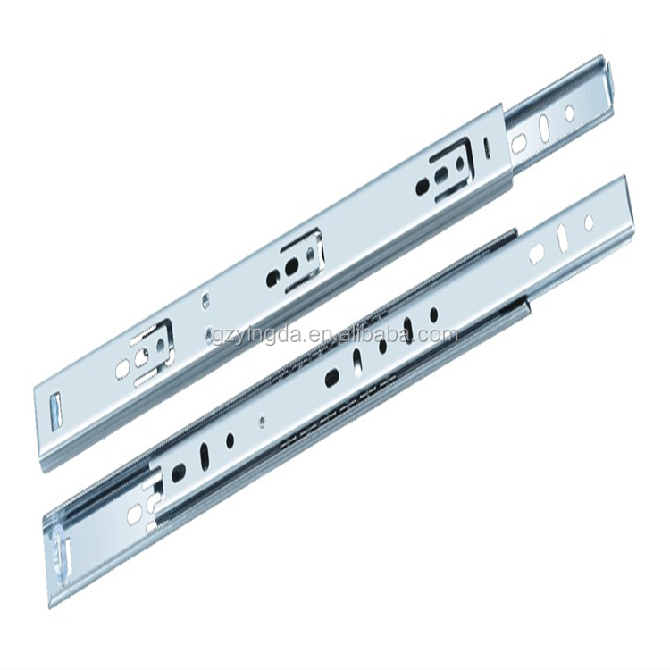 Half extension side mount drawer slides/ telescopic drawer channel