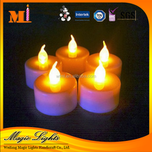 LED Flickering Tea Lights Battery Operated Candle