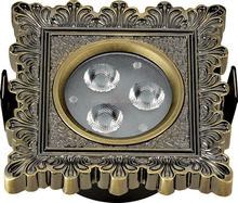 Classic Brass Recessed Led Downlight Fixtures