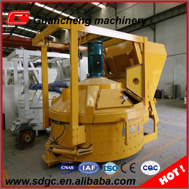 500l capacity automatic big bucket build concrete planetary mixer in Peru