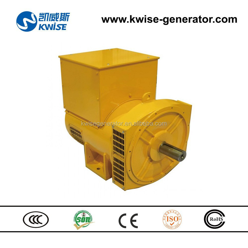 Double Bearing Generator 40kVA to 100kVA 1500rpm Brushless Alternator