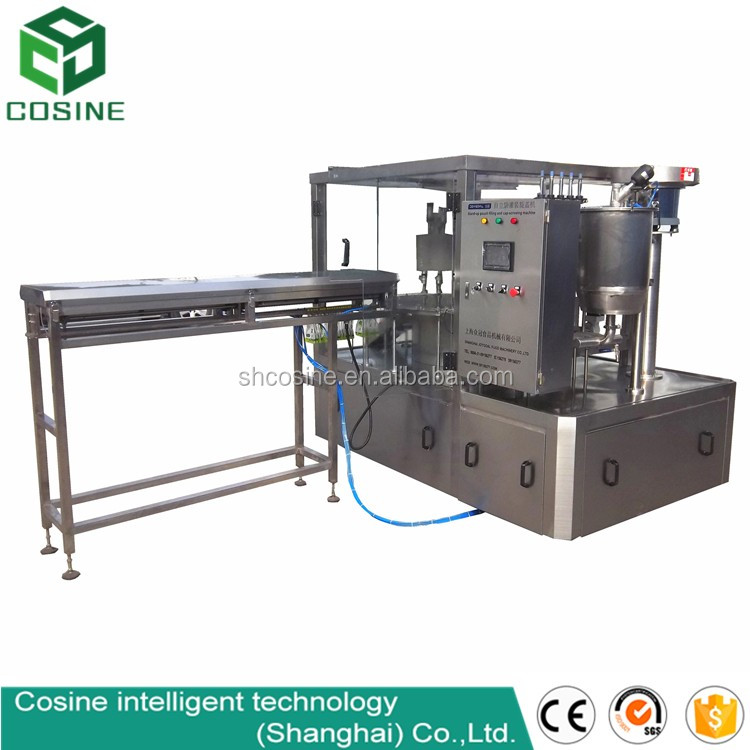 automatic chocolate milk beverge liquid plastic forming bag/pouch/sachet filling and sealing package machine(good performance)