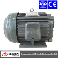 single/three phase AC 3.75KW 5HP-4P-30L electrical motors for hydraulic machine