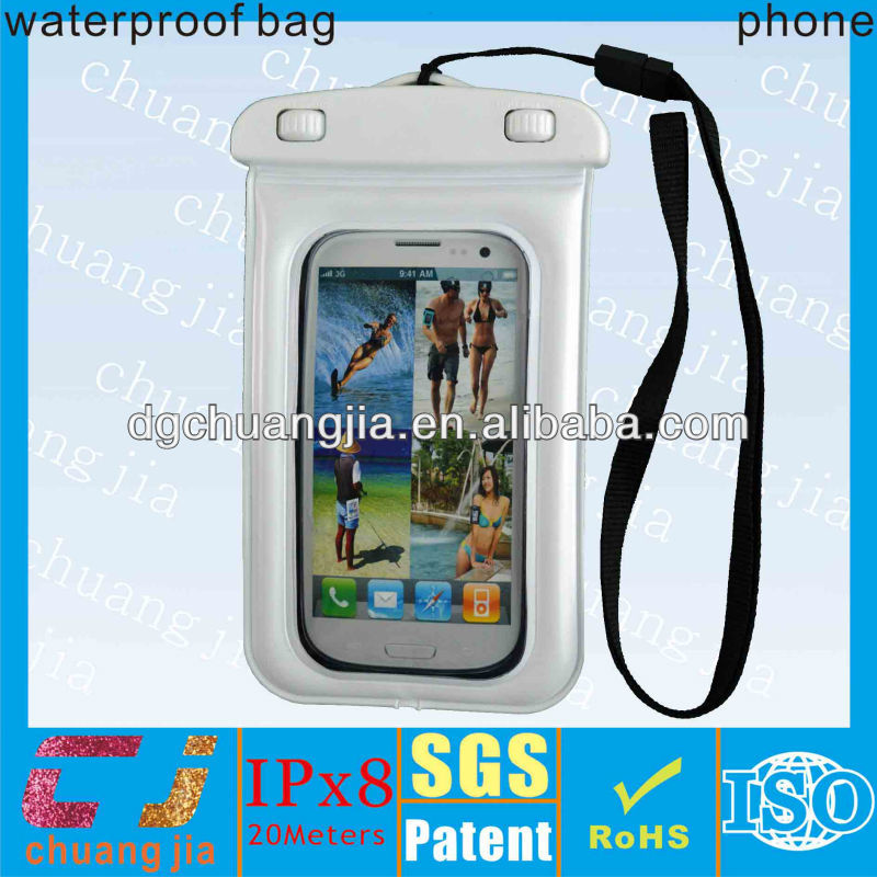 Fashion pvc waterproof bag for samsung galaxy core i8260 i8262
