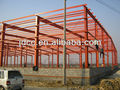 big span strong and easy assemble light steel structure railway station