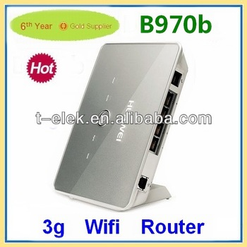 huawei router E960/B970b 3G wifi router with sim card slot