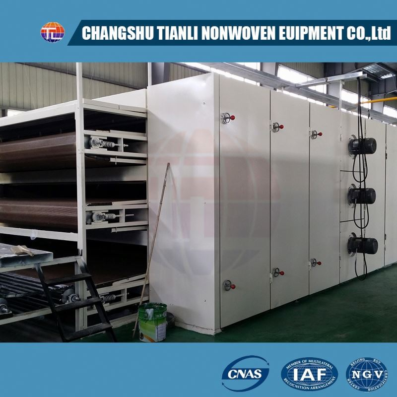 TL-BGB Production line for high elasticity nonwmachine fabric machine
