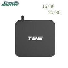 Joinwe Wholesale Google Dual Band Wifi T95 Smart Tv Box Android 5.1 T95 Dvb-c Android Tv Box