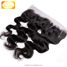 Bolin factory wholesale price swiss lace free part 13x4 lace frontal for black women