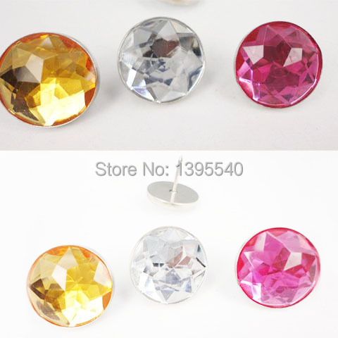 Buy New 22mm Clear Acryl Glass Nails Sofa Industry Decoration Fileds ...