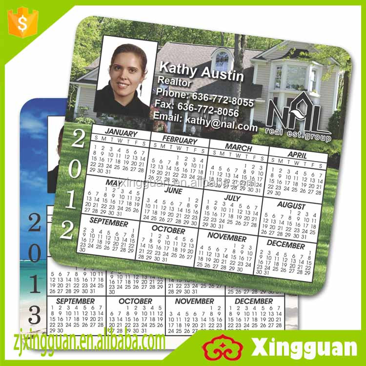 XG2019 wholesale china popular paper calendar,fridge magnet custom calendar,paper calendar fridge magnet