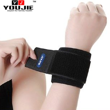 Hot selling sports spandex magnetic pain relief wrist band