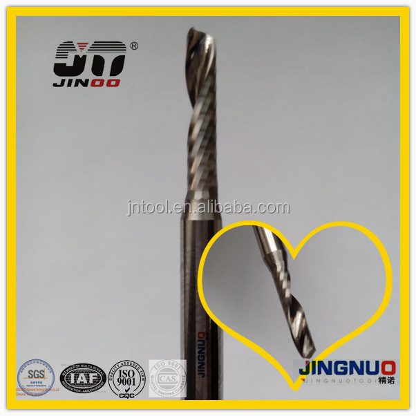 JINOO High Performance cnc quality end mills solid carbide engraved tool
