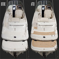 Multifunctional factory price synthetic yacht teak sheet boat synthetic teak composite teak