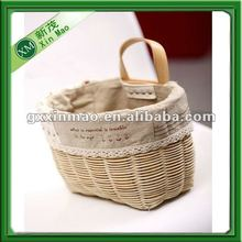 popular handwoven hanging wicker basket wholesale