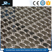 2015 China professional stainless steel 304 balanced weave wire mesh conveyor belt