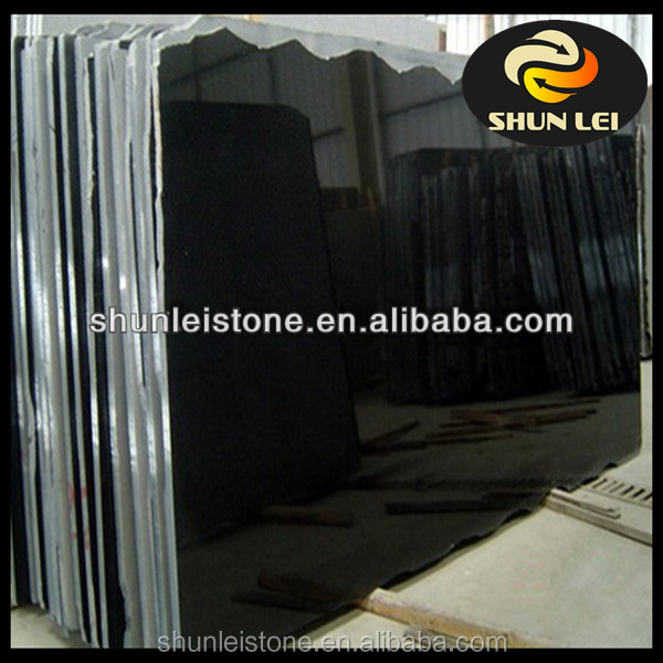 Hot Sale Cut To Size Absolute Shanxi Black Granite