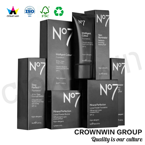 Cosmetic BB Cream Magnetic Paper Packaging Box
