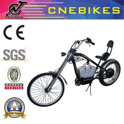 24''rear wheel 26'' front wheel 48v 1000W harley li-ion battery electric cycling bike for sale