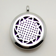 2016 New Design Stainless Steel caged essential oil Diffuser necklace locket