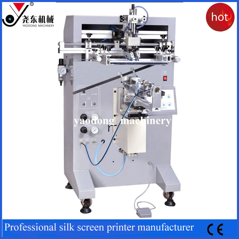 best quality semi-automatic screen print curved surface machine