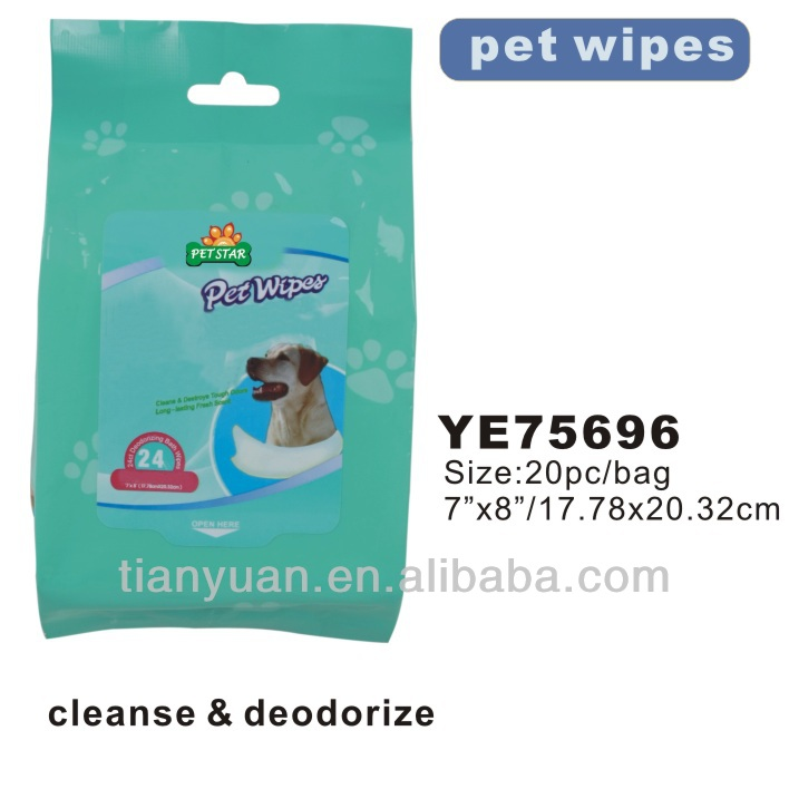 dog wet wipes