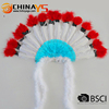 High quality attractive new noble style Fluffy Native small indian headdress