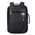 Factory direct China black nylon 2 in 1 laptop backpack