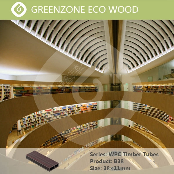 PVC profiles best fit for indoor decorative applications laminated wood wall coverings