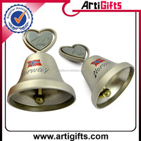 Custom plated small metal bells