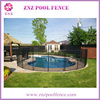 With 10 years Experience Factory Portable Swimming Security Aluminum safety removable pool fence