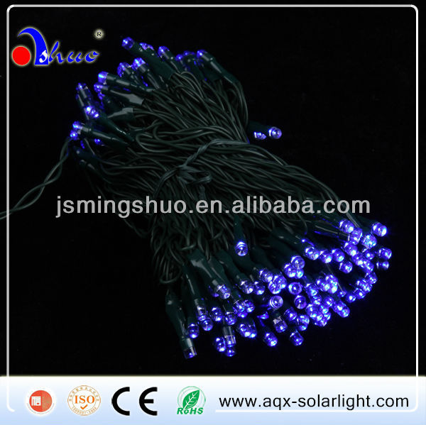 200LED Blue Solar String Light,Fairy Light